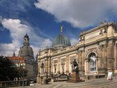 pohled z Drážďan