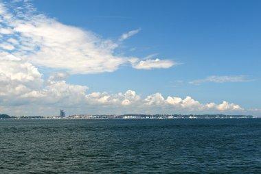 Panorama of Gdynia