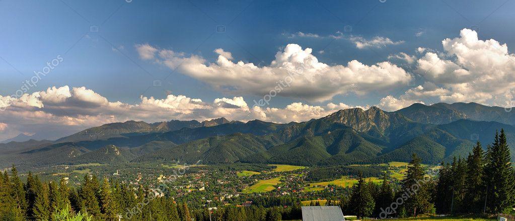 Panorama of Tatra