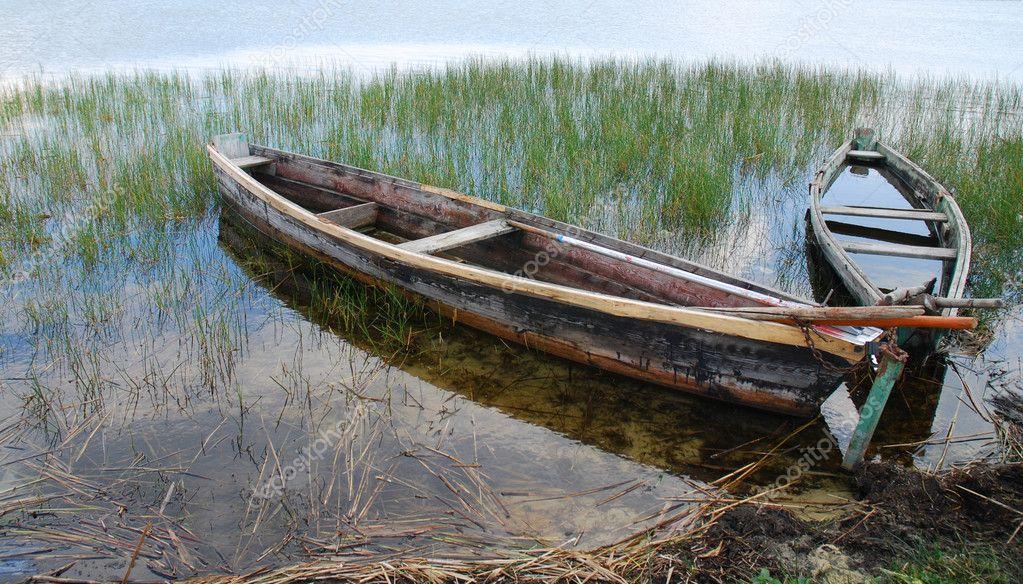 деревенская лодка