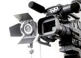 DV-kamera és fény