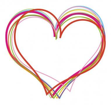 Heart. Vector illustration clip art vector