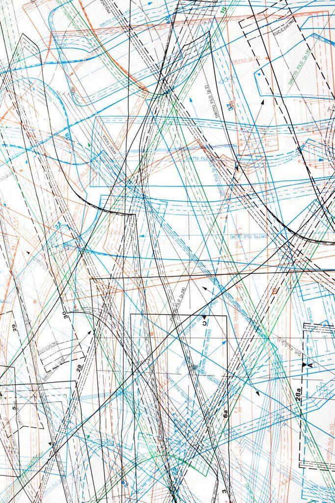 patrones de ropa ubicada en dibujos — Foto de stock © AlexAvich #1767490