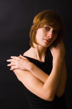 Woman in Black Studio