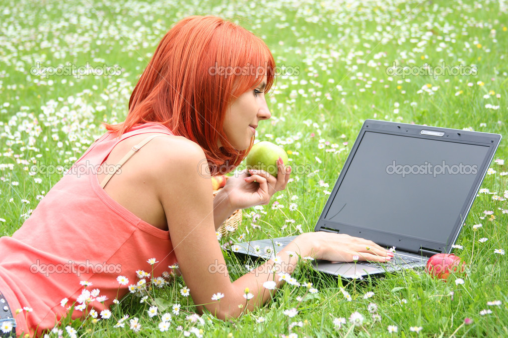 Notebook on picnic