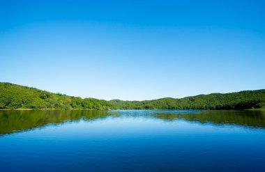 """Картина, постер, плакат, фотообои """"озеро"""", артикул 1802640"""