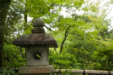 Ancient japanese lantern