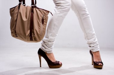 Legs and bag