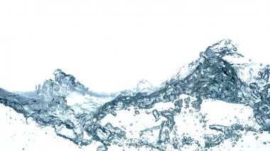 Water splashing background