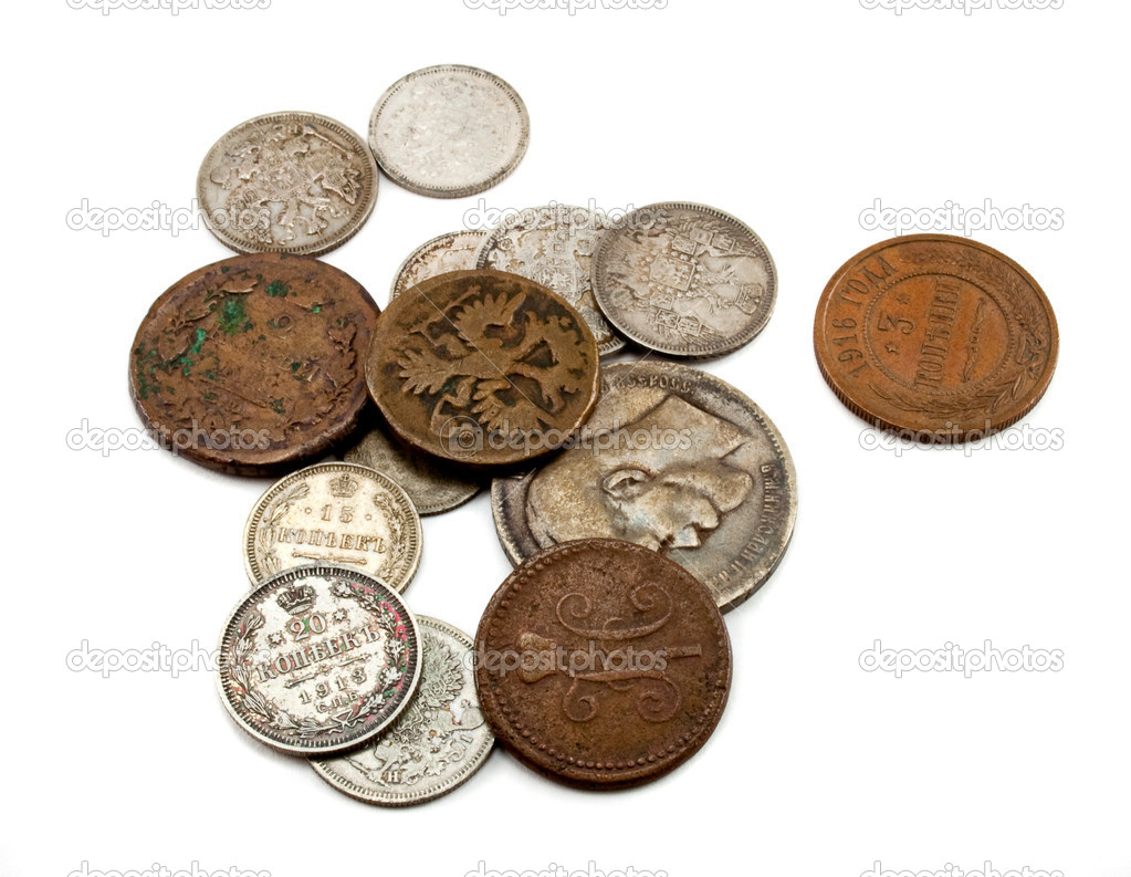 Ancient coins foto spiderpic foto royalty free.