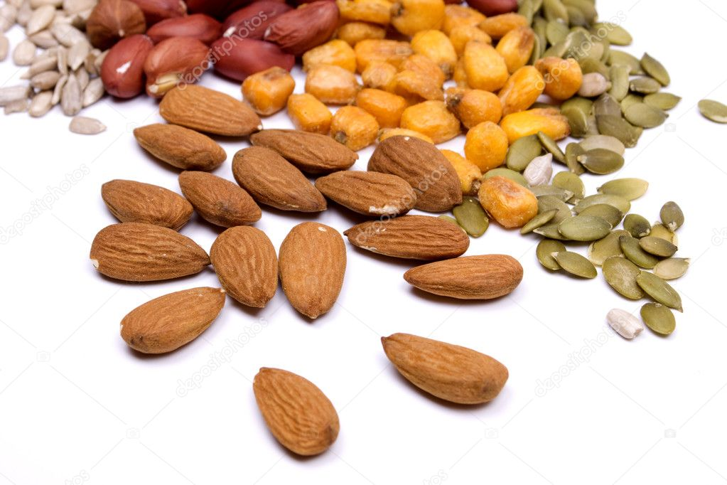 Nuts and seeds, healthy snack