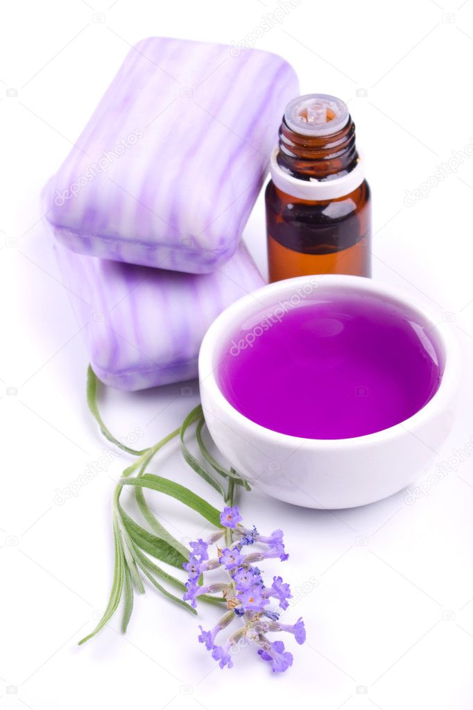 Lavender flower, soap and extract