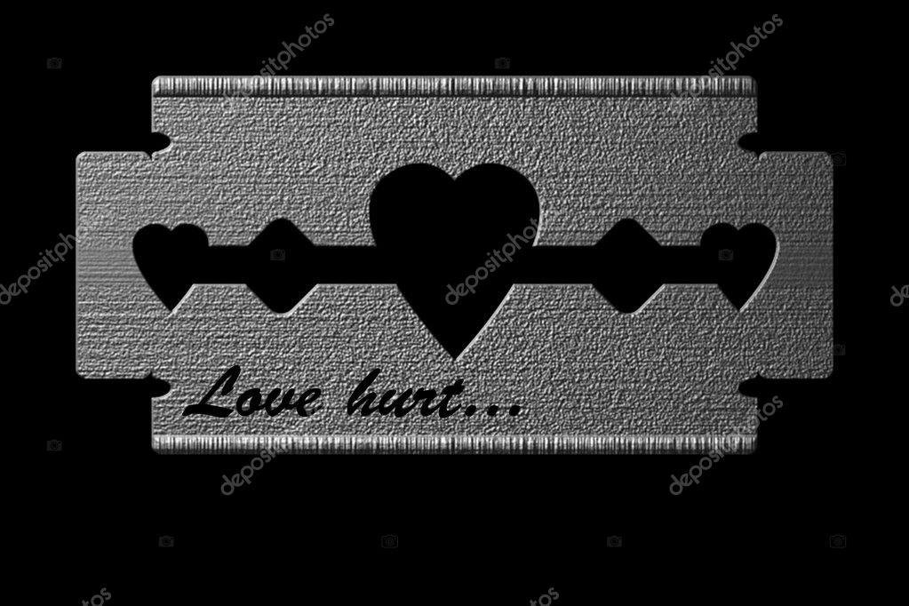 Love Hurt 1 Stock Vector C Ivosar 1784397