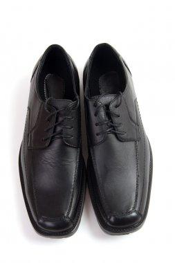 Black classic shoes