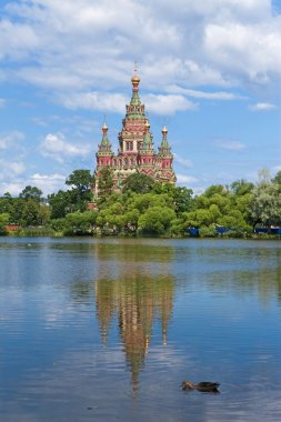 Russia, Peterhof and the Church