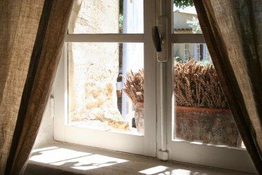 View thru old window