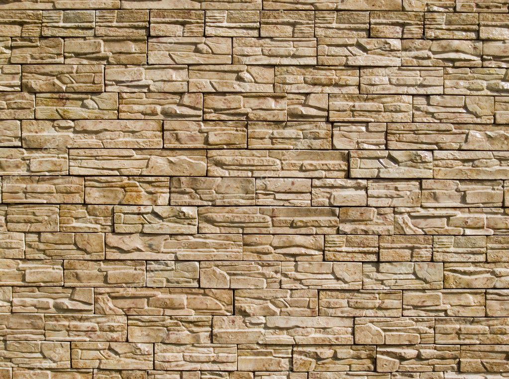 Decorative Stones Wall U2014 Stock Photo