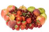 friss bogyós gyümölcsök és gyümölcsök