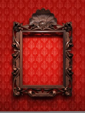 Carved Frame for picture