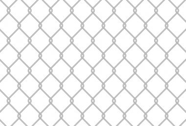 Chain link fence texture