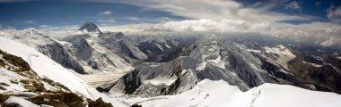 High mountains panorama