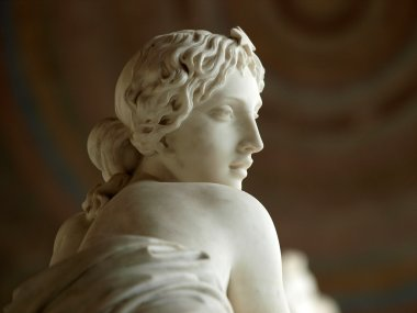 Gentle beauty immortalised in marble