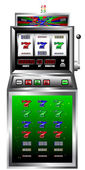 Glück sieben Spielautomaten Vektor