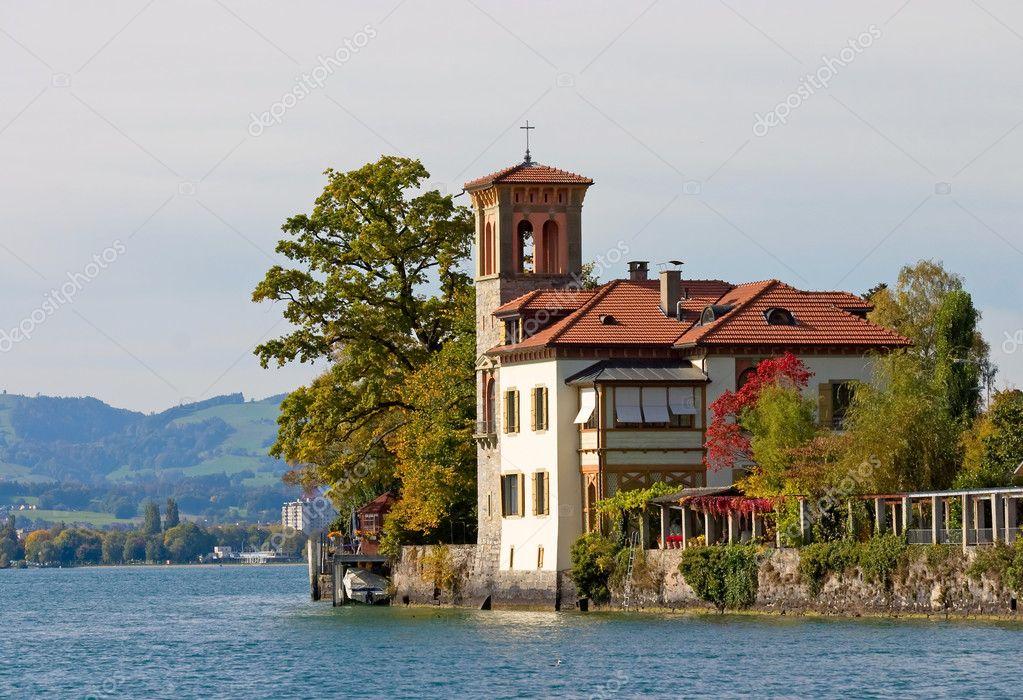 A beautiful house in italian style