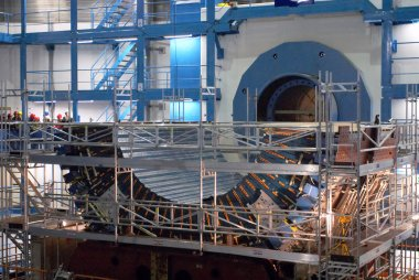 Assembling the Large Hadron Collider