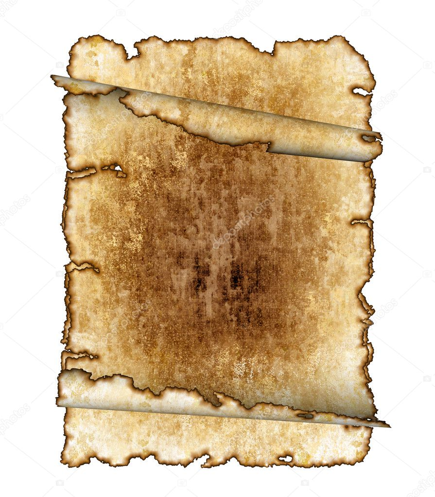 Antique Scroll Paper: Rough Antique Parchment Paper Scrolls