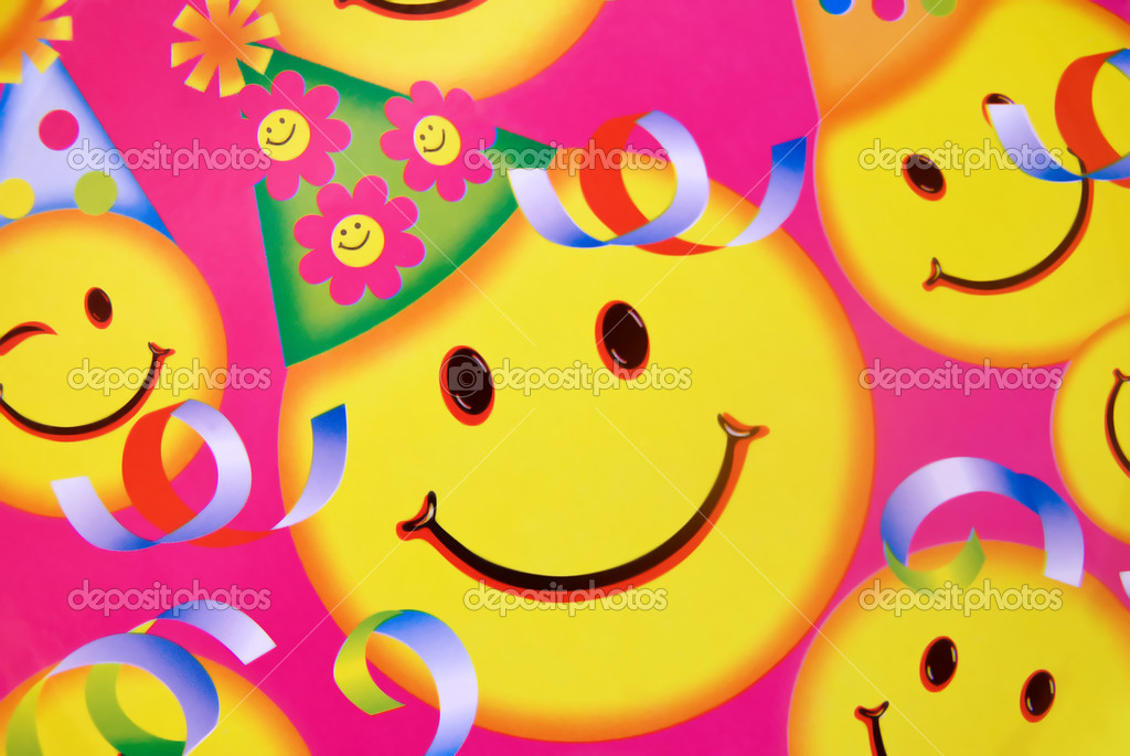 Geburtstag Smiley Stockfoto C Fotosonar 2038405