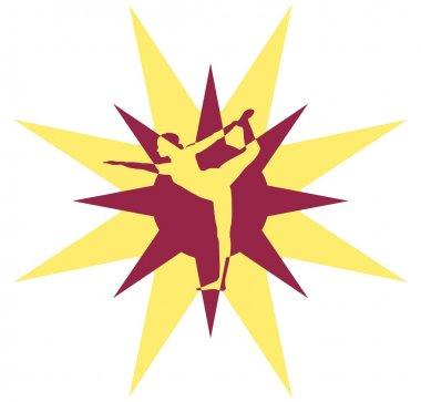 Yoga Logo conception vector