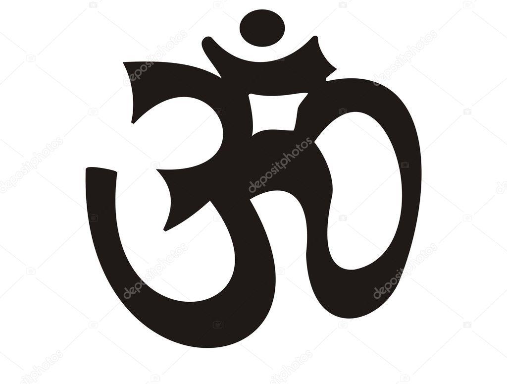 Vector aum - yoga symbol — Stock Vector © anetkata #2535046