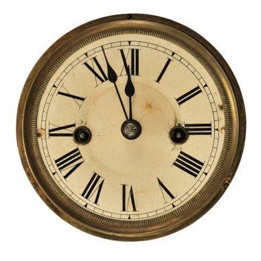 Old clock detail