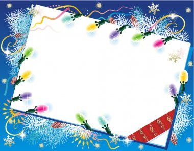 Christmas card background with christmas