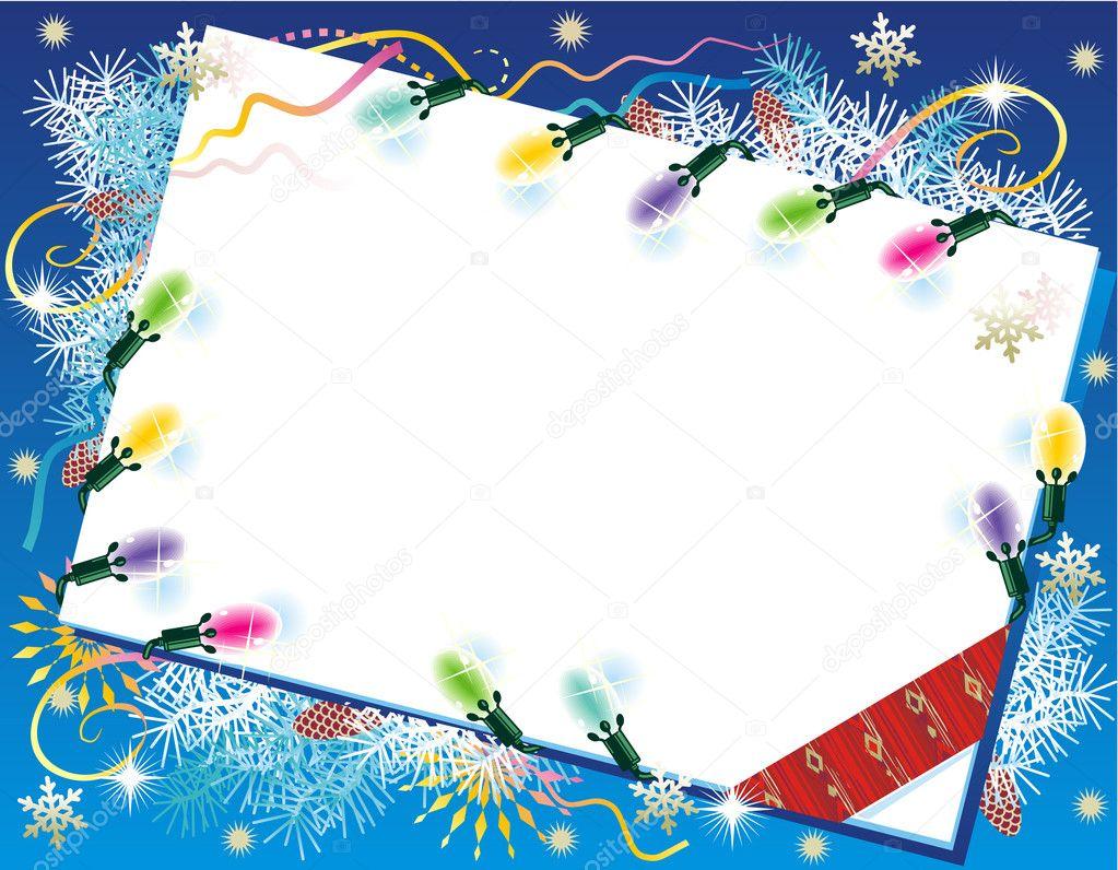 Weihnachtskarte-Hintergrund mit Weihnachten — Stockvektor ...