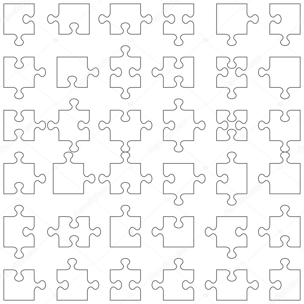 Puzzle Piece Shapes