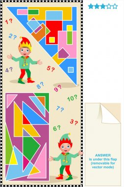 Count rectangles and triangles visual pu