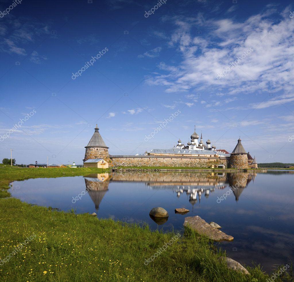 Spaso-Preobrazhenskiy solovetsky monastery,Karelia, Russia,