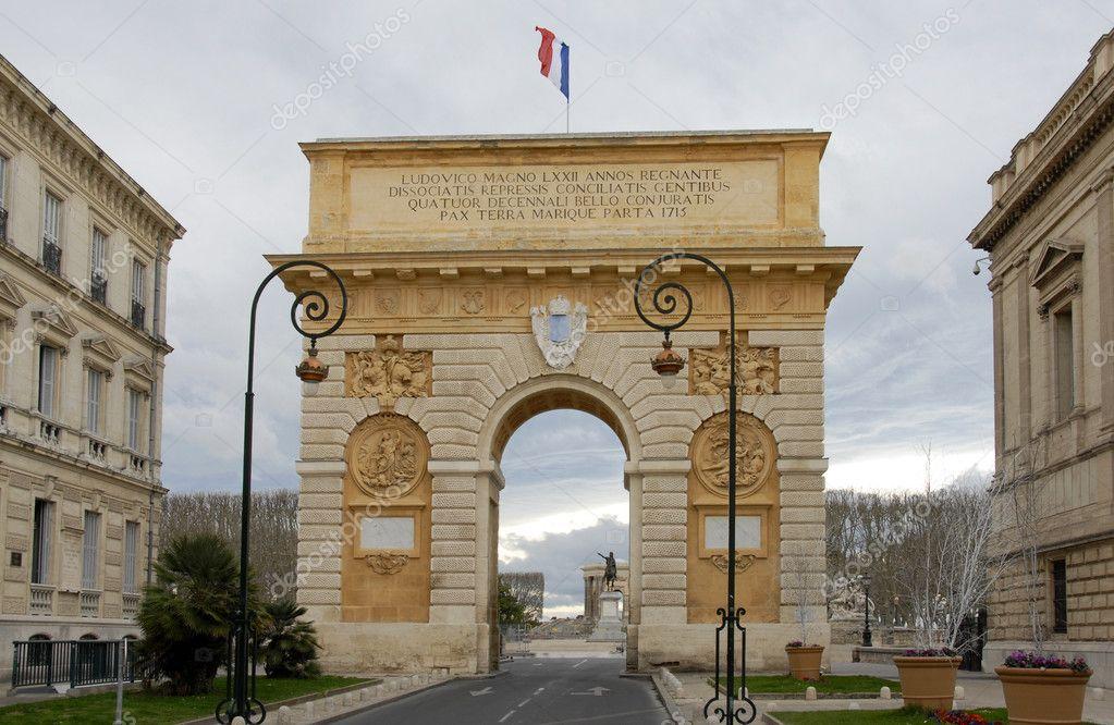 Arco del triunfo montpellier foto de stock cynoclub 1940142 - Arc de triomphe montpellier ...