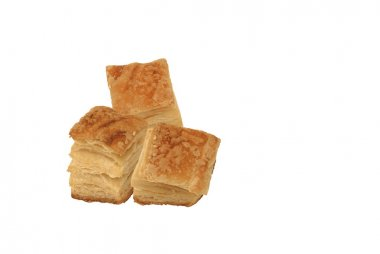 Square puff pastry