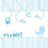 Születés bejelentése kártya