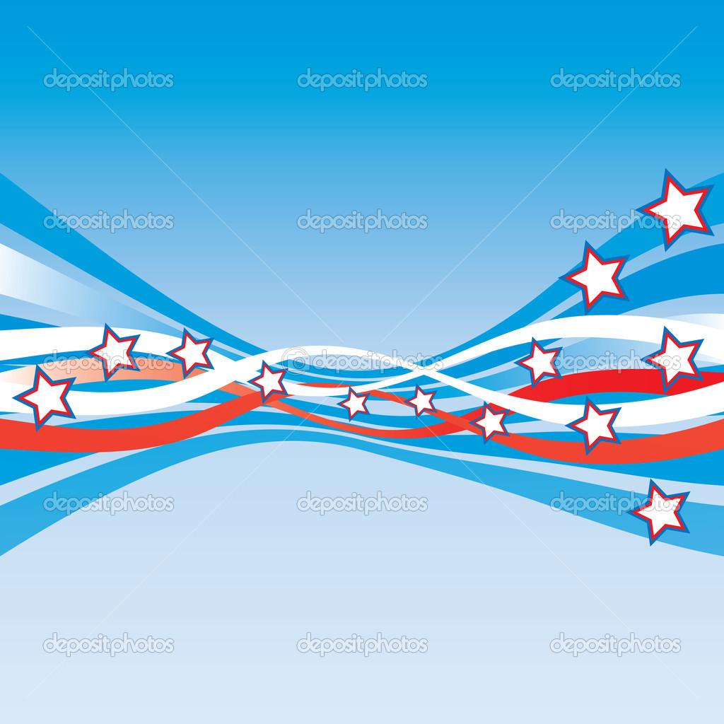 usa patriotic stationery abstract stock vector milinz 1895005