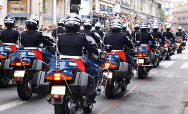 Bikers of the National Gendarmerie