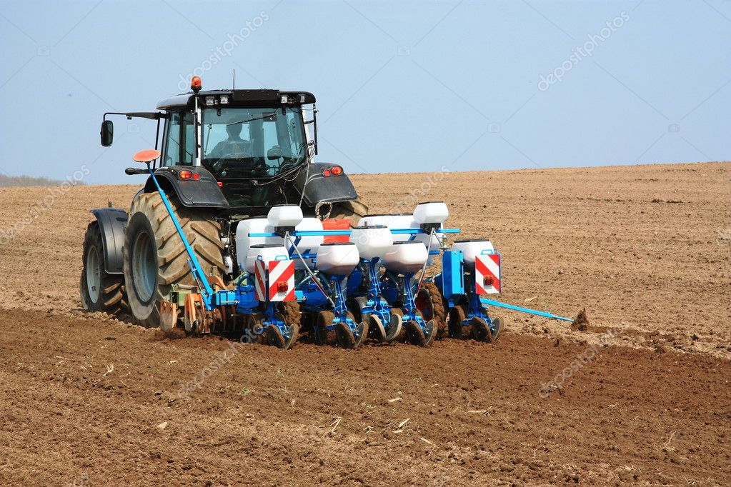 Planting the spring crops