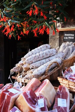 French meat market
