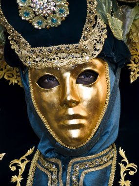 Beautiful Venetian style mask