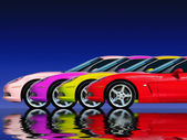 rychlé auto kolekce