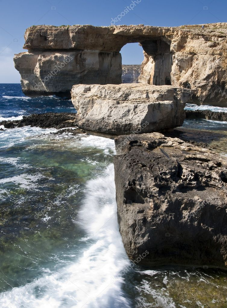 The Azure Window and Blue Hole
