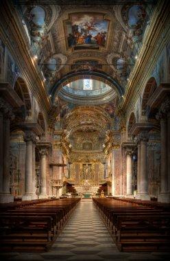 Baroque Basilica Finale Ligure Italy